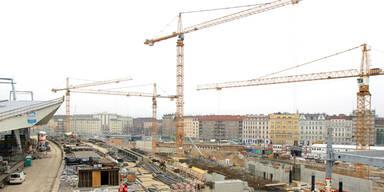 Zwei Großbaustellen nähern sich der Fertigstellung