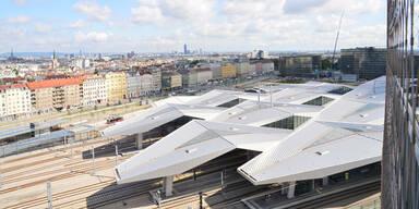Wohnen beim Wiener Hauptbahnhof mit gutem Zeugnis
