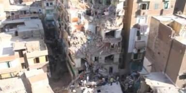 11 Tote: Hochhaus in Alexandria eingestürzt