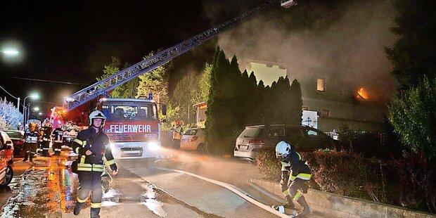 Pflegerin starb bei Haus-Brand