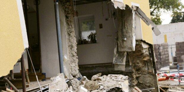 Haus stürzte plötzlich ein