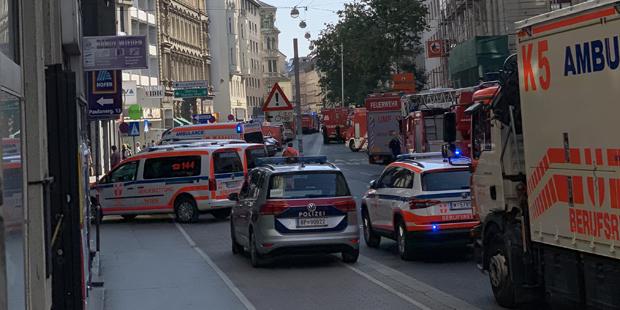 Hauseinsturz Gasexplosion Wien