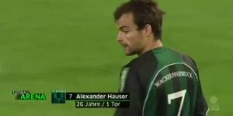 Sturm Graz - Wacker Innsbruck: Das 1:1
