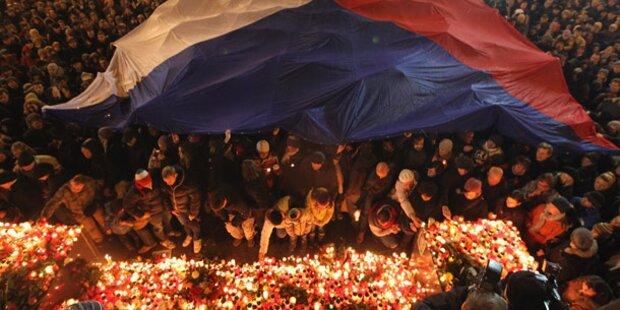 Große Trauer um Václav Havel