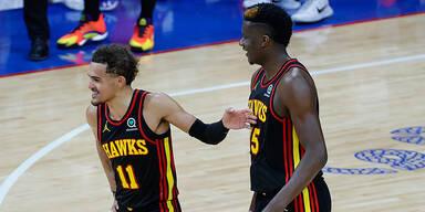 Hawks triumphieren über Philadelphia