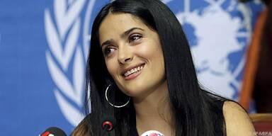Hayek ist Botschafterin von UNICEF