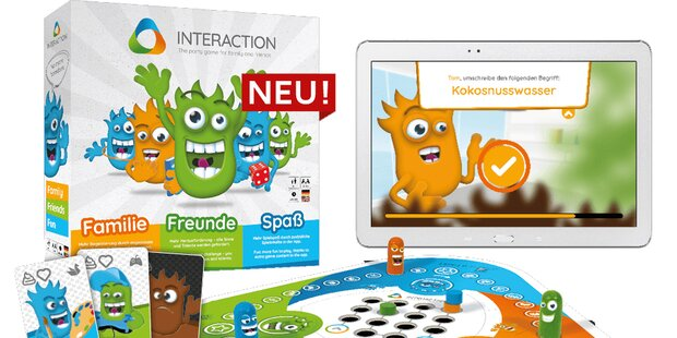 Digitales Family-Spiel made in Austria