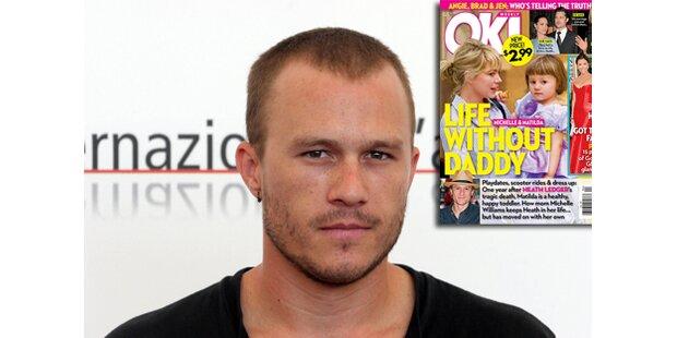 So lebt Heath Ledgers Tochter ohne Daddy