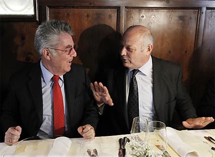 Heinz Fischer Luis Durnwalder Südtirol
