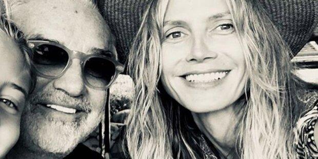 Heidi Klum überrascht mit Selfie