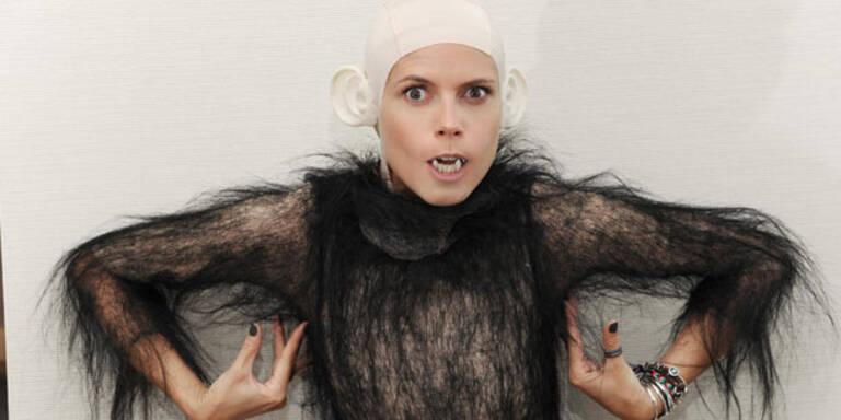 Heidi Klum macht sich zum Halloween-Affen