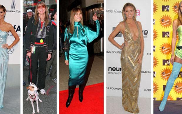 Die größten Modesünden von Heidi Klum