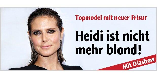 Heidi Klum jetzt auch noch dunkelhaarig!