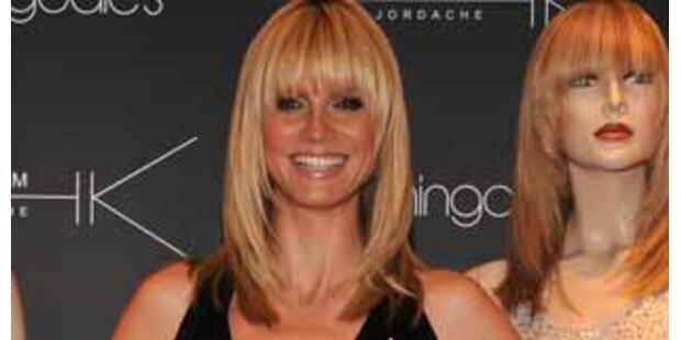 Heidi Klum will mit Falten alt werden