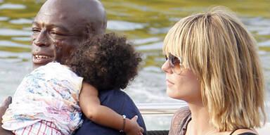 Heidi Klum & Seal in Frankreich - Urlaub