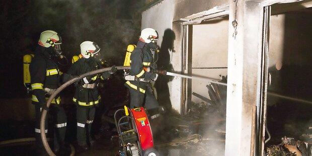 Heiler beim Feuer-Löschen erstickt