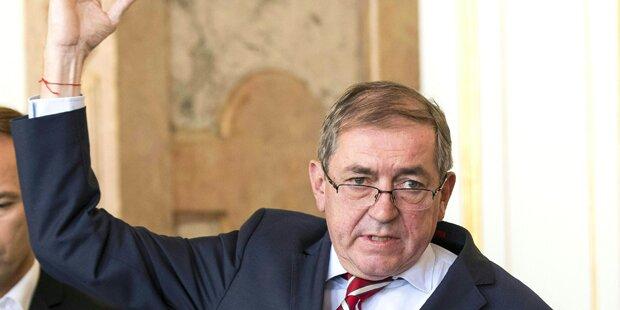 Heinz Schaden erhält Politikerpension