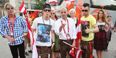 Dominik Heinzl und Trackshittaz