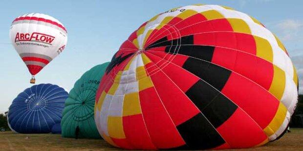 Heißluftballon landet im Gefängnis