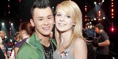 Lukas Plöchl & Freundin Anita
