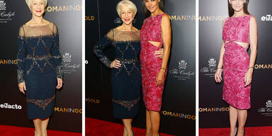 Dame Helen Mirren & Katie Holmes