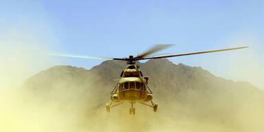 Helikopter Afghanistan