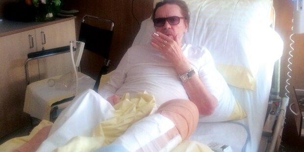 Berger: Wirbel um Zigarette in Spital