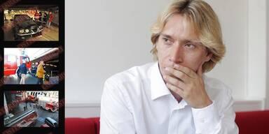 Helmut Werner: Brandanschlag