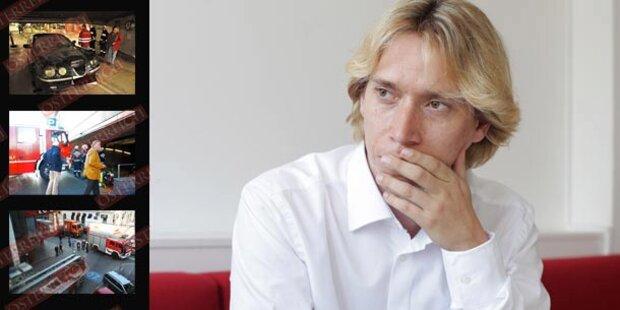 Brand-Attacke auf Helmut Werner