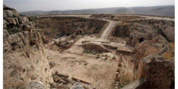Archäologen entdeckten Sarkophag von Herodes