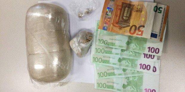 Mehr als ein Kilo Heroin: Dealer festgenommen