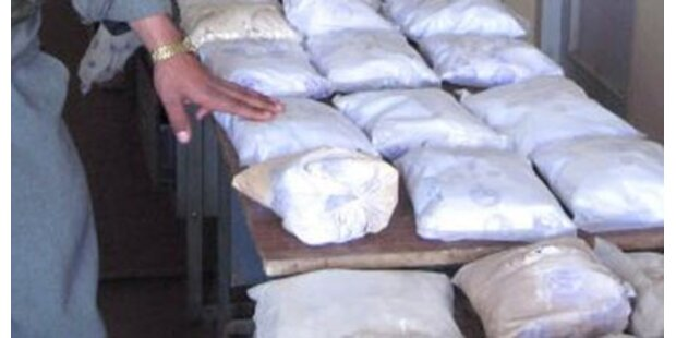 Heroin im Wert von 50 Mio sichergestellt