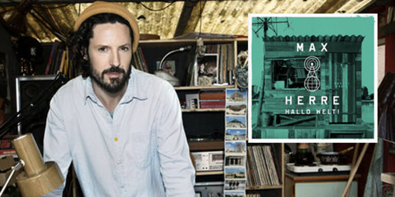 """Am 24. August brachte Max Herre sein neues Album """"Halo Welt!"""" heraus."""