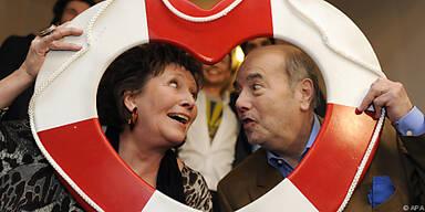 Hertha Schell und Peter Fröhlich