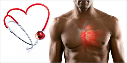 80% höheres Risiko für Herzerkrankung