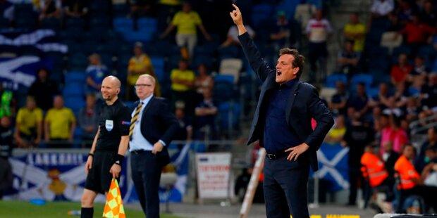 Erster Sieg für Andi Herzog als Isreal-Coach