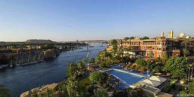 """Hier schrieb Agatha Christie """"Tod auf dem Nil"""""""