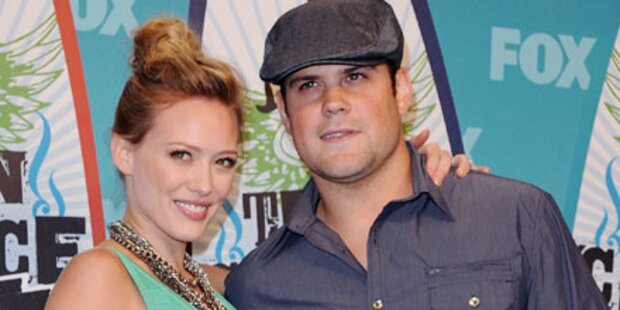 Romantisch: Hilary Duff hat geheiratet