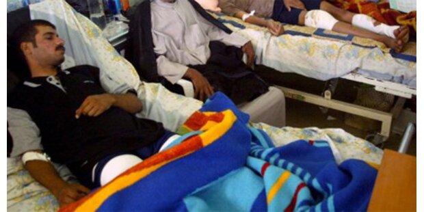 Mindestens acht Tote bei Bombenanschlag im Irak
