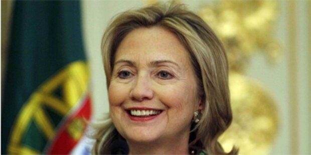 Hillary Clinton möchte gerne Oma werden