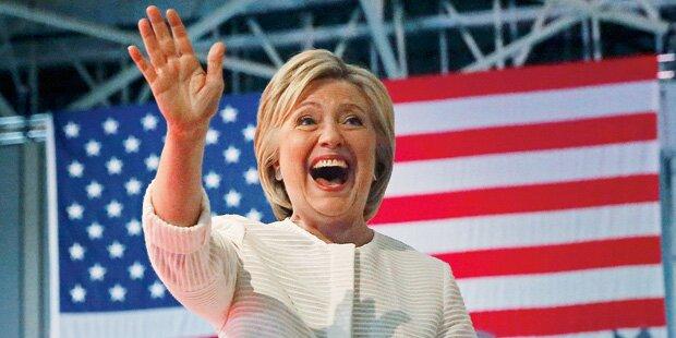 Hillary schreibt Geschichte