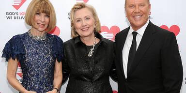 Hillary Clinton Anna Wintour