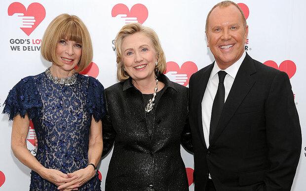 Hillary Clinton holt sich Modetipps von Anna Wintour