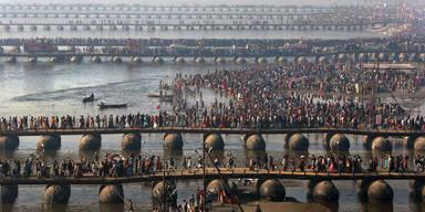 Massenpanik auf Hindu-Fest: 36 Tote