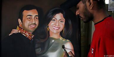 Hindu-Zeremonie für Shilpa Shetty und Raj Kundra