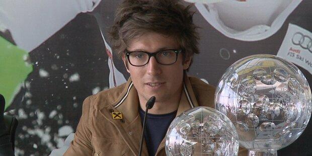 Marcel Hirscher im Interview mit oe24