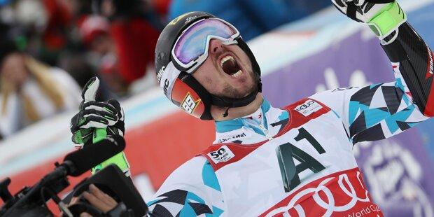 Marcel Hirscher gewinnt Levi-Slalom