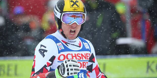 Doppelsieg für Marcel Hirscher