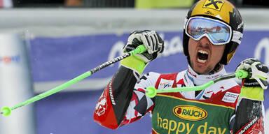 39. Weltcupsieg für Marcel Hirscher