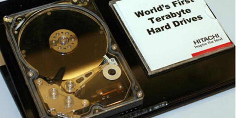 Erste Festplatte mit 1 TB Speicher